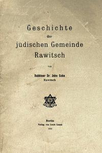 Okładka oryginalnej monografii J. Cohna