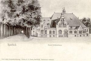Neues Schützenhaus - projekt nowego domu strzeleckiego