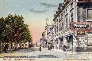 Wilhelmsplatz und Post Gasse