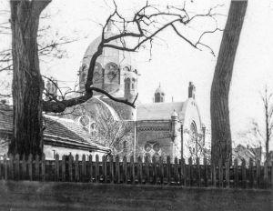Rawicka synagoga - zdjęcie wykonane 1940 r.