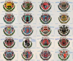 Pruskie herby miast z przełomu XIX i XX wieku
