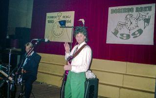 Zespół Sfinks podczas zabawy sylwestrowej 1993 r. w DK