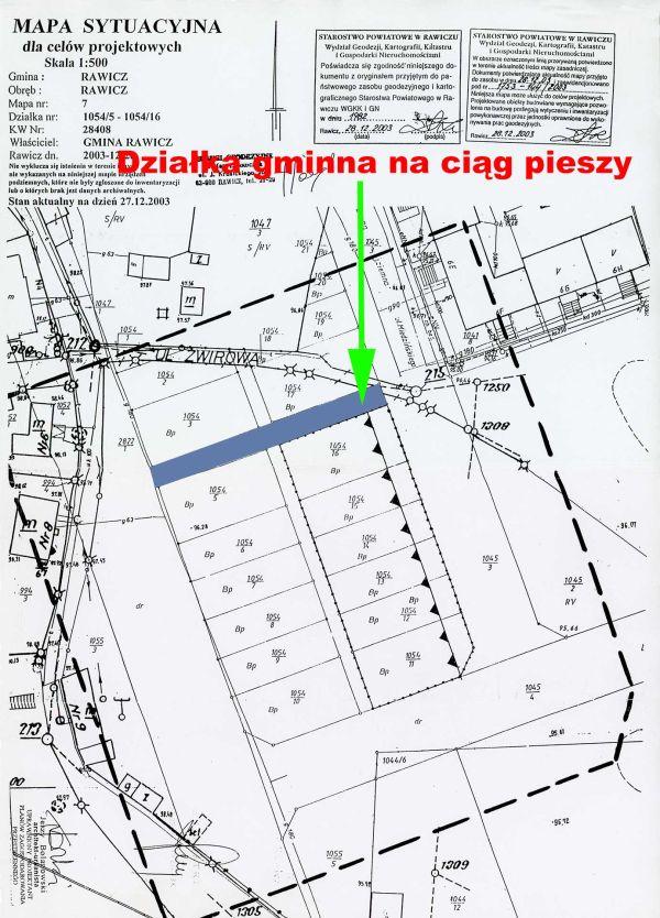 Warunki zabudowy na jeszcze nie zrealizowany fragment MPZP Osiedla Mikołajewicza